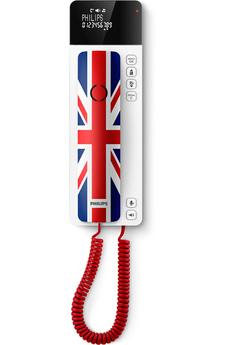Téléphone filaire M110UJ/ DESIGN UK Philips