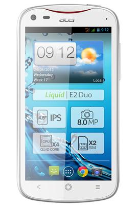 Acer LIQUID E2 DUO BLANC
