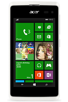 Mobile nu LIQUID M220 BLANC Acer