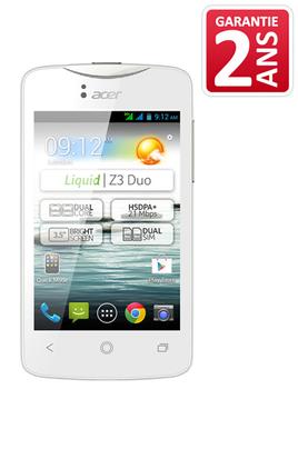 Acer LIQUID Z3 LS BLANC