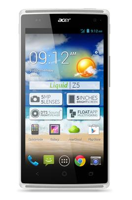 Acer LIQUID Z5 DUO Blanc