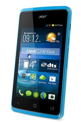 Acer Liquid Z200 Dual SIM bleu