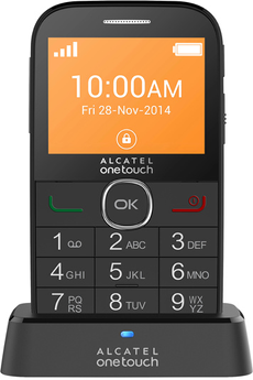 Mobile nu 20.04G NOIR SENIOR Alcatel