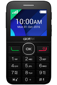 Mobile nu 2008G NOIR Alcatel