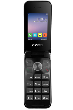 telephone portable alcatel a clapet