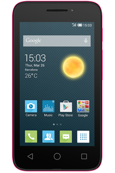 "Mobile nu PIXI 3 4"" ROSE Alcatel"