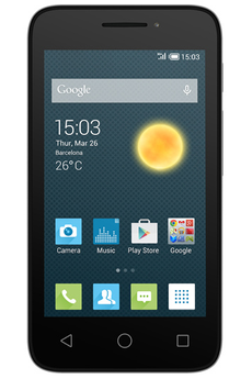 "Mobile nu PIXI 3 4"" ARGENT Alcatel"