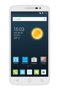 "Mobile nu POP 2 5"" BLANC Alcatel"