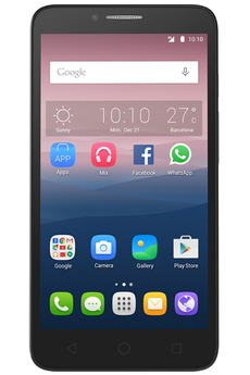"Mobile nu POP 3 5.5"" DUAL SIM ARGENT Alcatel"