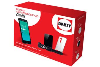 Smartphone PACK ZENFONE GO NOIR AVEC ACCESSOIRES Asus