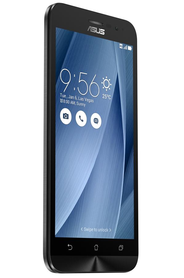 smartphone asus zenfone go zb500kl 5 16go gris zenfone. Black Bedroom Furniture Sets. Home Design Ideas