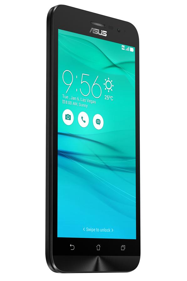 smartphone asus zenfone go zb500kl 5 16go noir zb500. Black Bedroom Furniture Sets. Home Design Ideas