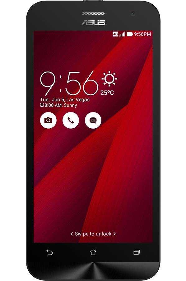 smartphone asus zenfone 2 ze500cl 16go rouge zenfone 2. Black Bedroom Furniture Sets. Home Design Ideas