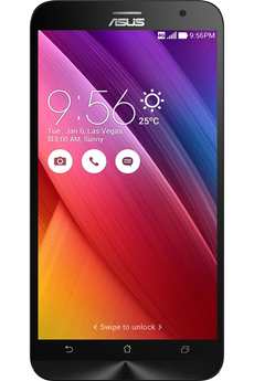 Mobile nu ZENFONE 2 ZE550ML 16 GO DUAL SIM NOIR Asus