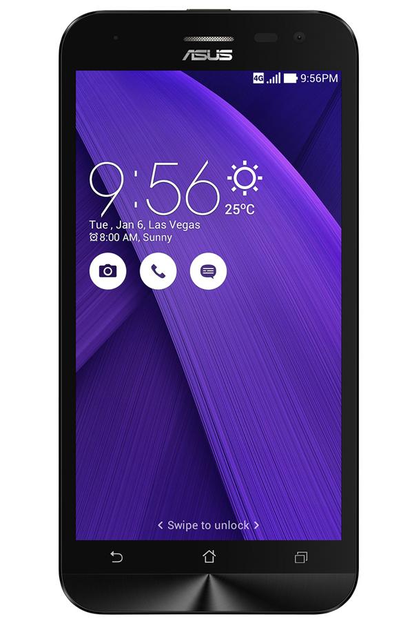 smartphone asus zenfone 2 laser ze500kl 5 39 39 16go violet. Black Bedroom Furniture Sets. Home Design Ideas