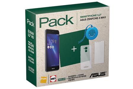 Smartphone Asus ZENFONE 3 MAX AVEC PACK DACCESSOIRES