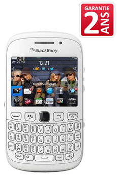 Comparer BLACKBERRY CURVE 9320 BLANC 512MO