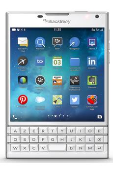 Mobile nu PASSPORT BLANC Blackberry
