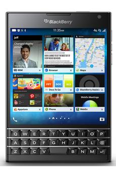 Mobile nu PASSPORT NOIR Blackberry