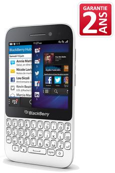 Mobile nu Q5 BLANC Blackberry