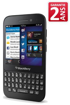 Mobile nu Q5 Noir Blackberry