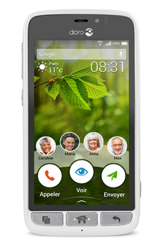 Smartphone 8031 BLANC Doro