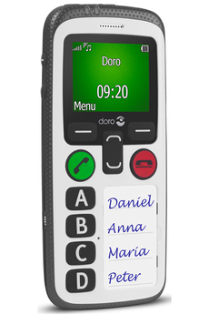 Mobile nu SECURE 580 BLANC Doro