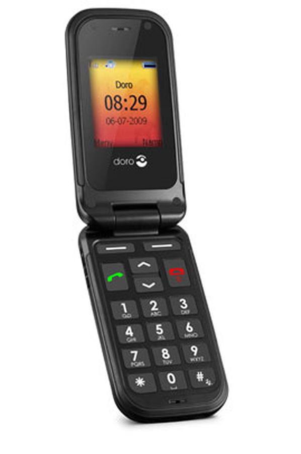 smartphone doro phone easy 409 3469590 darty. Black Bedroom Furniture Sets. Home Design Ideas