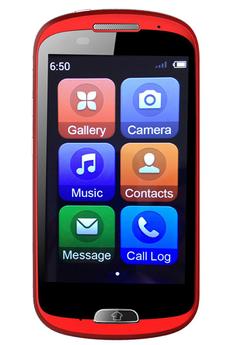 Mobile nu PHONE A6 noir Haier