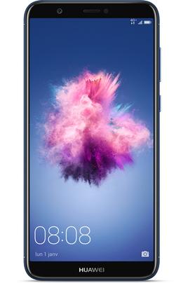 """Mobile sous Android 8.0 - Oreo - 4G Écran tactile 14.27 cm (5,65"""") - 18:9 Full HD+ 2160 x 1080 pixels Processeur Octo-coeur 2,36GHz - 32Go de mémoire Appareil photo double capteur 13 mégapixels + 2 mégapixels - Vidéo Full HD 1080p"""
