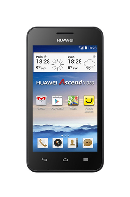 Huawei Ascend Y330 Noir