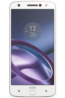 Smartphone MOTO Z BLANC/OR Motorola