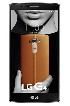 Mobile nu G4 CUIR NOIR Lg