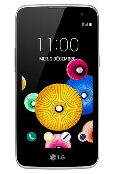 Mobile nu K4 DUAL SIM NOIR Lg