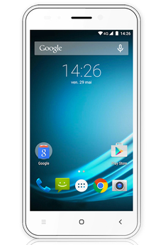 Mobile nu L-ITE 502 DUAL SIM BLANC Logicom