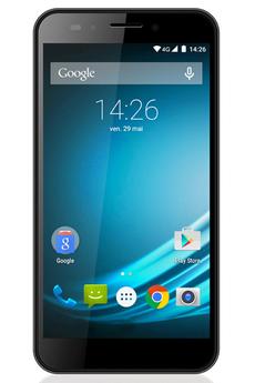 Smartphone L-ITE 552 DUAL SIM GRIS METAL Logicom