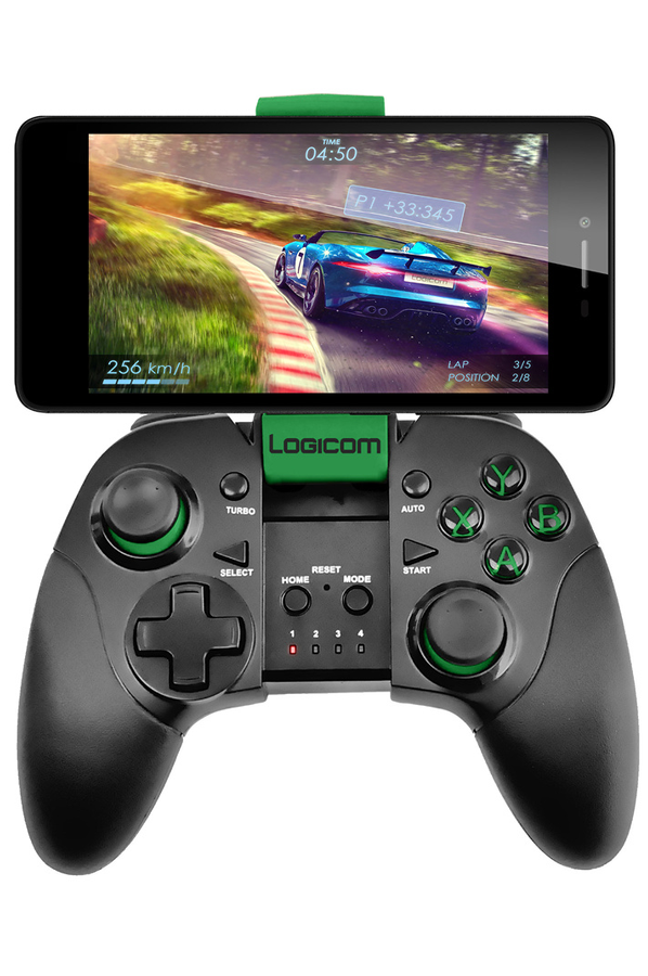 smartphone logicom m bot 51 noir avec manette de jeux bluetooth darty. Black Bedroom Furniture Sets. Home Design Ideas