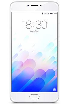 Smartphone M3 NOTE 16GO BLANC ARGENT Meizu