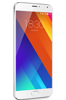 Mobile nu MX5 32GB ARGENT BLANC Meizu