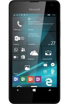 Mobile nu LUMIA 550 NOIR Microsoft
