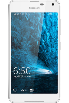 Smartphone LUMIA 650 BLANC Microsoft