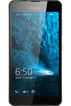 Mobile nu LUMIA 650 NOIR Microsoft