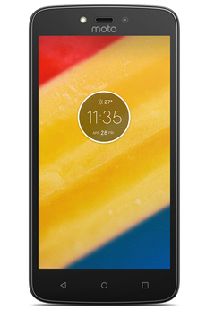 Smartphone MOTO C PLUS ROUGE Motorola