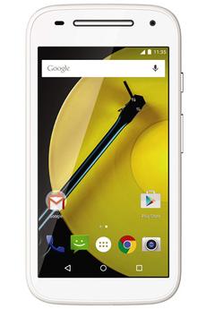 Mobile nu MOTO E 4G BLANC Motorola