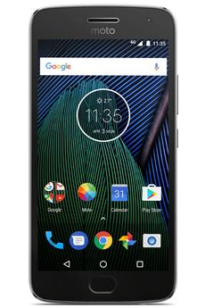 Smartphone MOTO G5 PLUS GRIS LUNAIRE Motorola