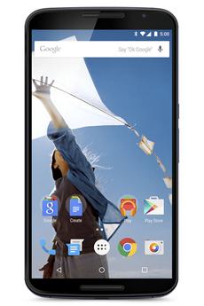 Mobile nu NEXUS 6 32 Go BLEU Motorola