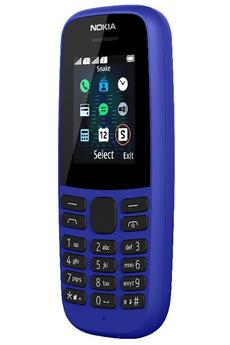 Téléphone portable Nokia 105 KING BLEU