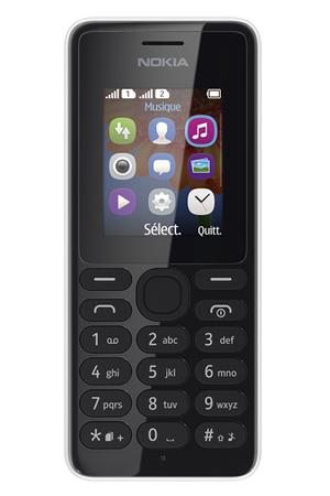 smartphone nokia 108 dual sim blanc darty. Black Bedroom Furniture Sets. Home Design Ideas