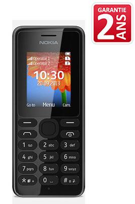 Nokia 108 LS NOIR