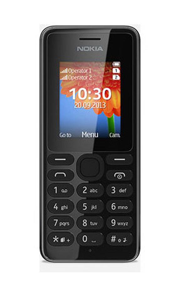 smartphone nokia 108 dual sim noir 3807142 darty. Black Bedroom Furniture Sets. Home Design Ideas